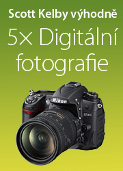 5x Digitální fotografie od Scotta Kelbyho