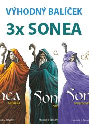 Balíček 3x Sonea od Trudi Canavan