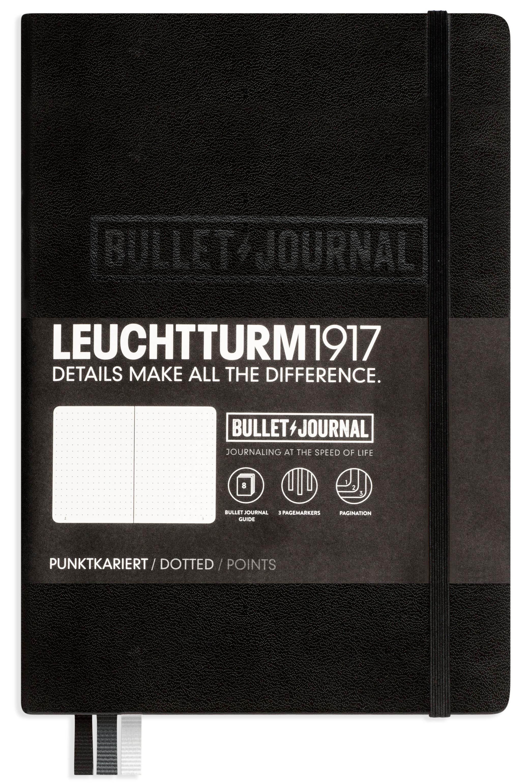 Zápisník Leuchtturm1917 ČERNÝ