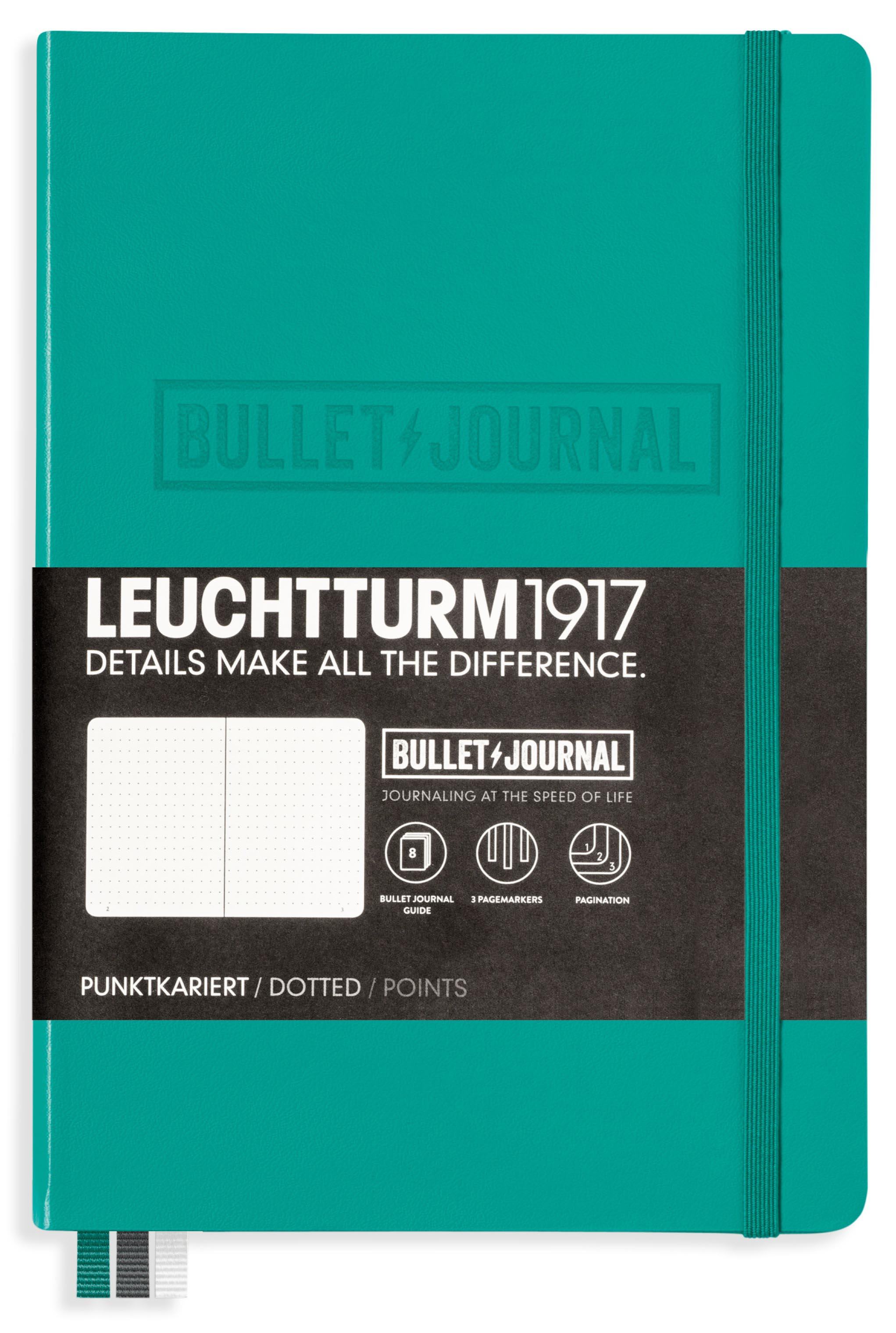 Zápisník Leuchtturm1917 ZELENÝ
