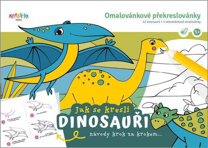 Učím se malovat - Dinosauři