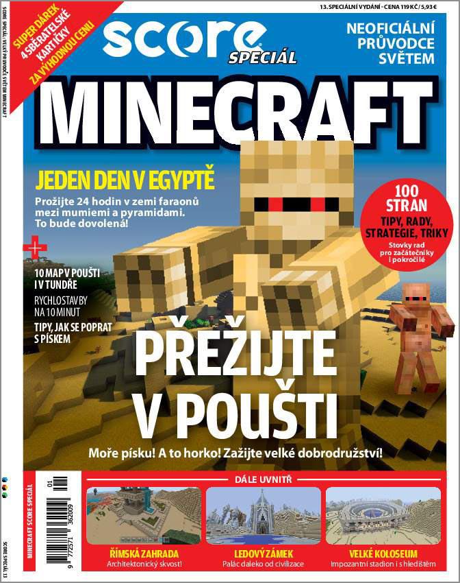 Kolektiv autorů – Minecraft – přežijte v poušti