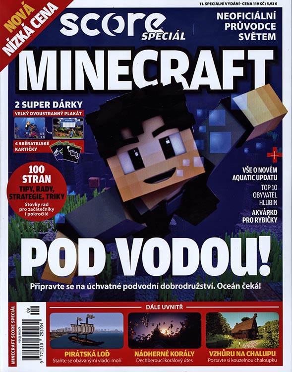 Kolektiv autorů – Minecraft – pod vodou!