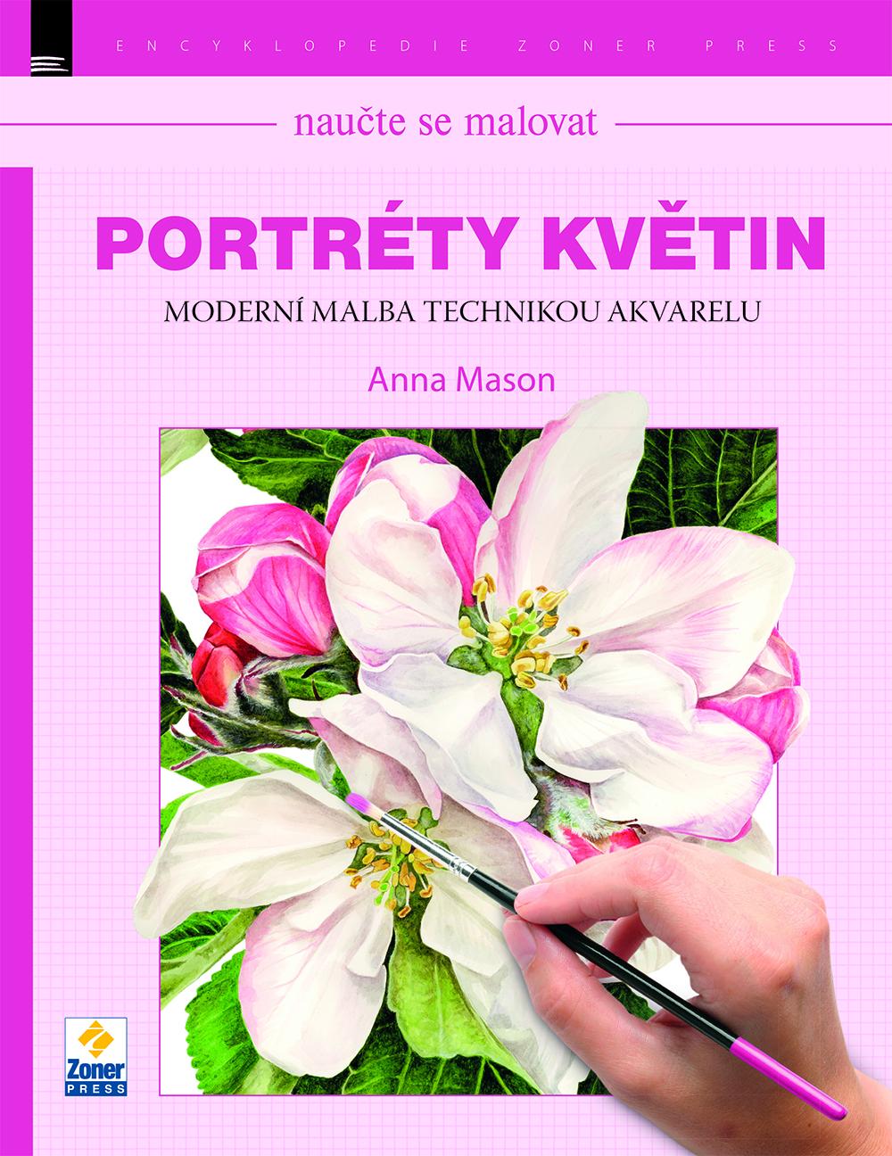 Portréty květin: Moderní malba technikou akvarelu