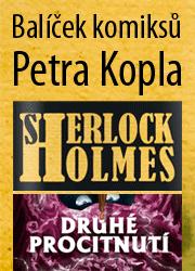 Balíček komiksů Petra Kopla + bonus Tajemný hrad v karpatech