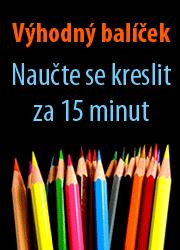 Balíček dvou knih Naučte se kreslit za 15 minut